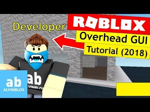 4) How To Make An Overhead GUI - Roblox Scripting Tutorial - YouTube