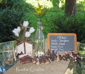 fall barbeque ideas | Table Decor Ideas For An Outdoor Barbecue | Rustic Crafts & Chic Decor