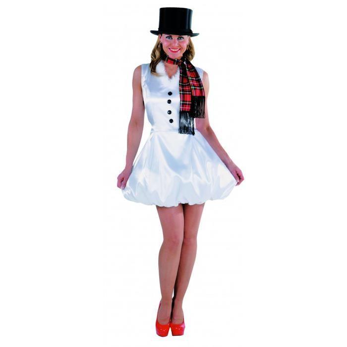 Snow girl with sash - Las Fiestas