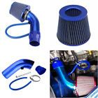 "cool Great Air Intake Kit Blue Pipe Diameter 3"" +Cold Air Intake Filter+ Clamp+ Accessories 2018-2019"