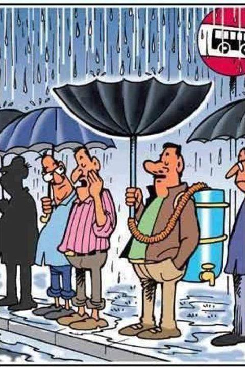 Deveriamos repensar sobre o armazenamento da água da chuva. via Pinterest