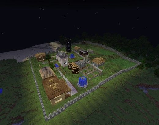 Minecraft Wooden Buildings Keep Burning Down