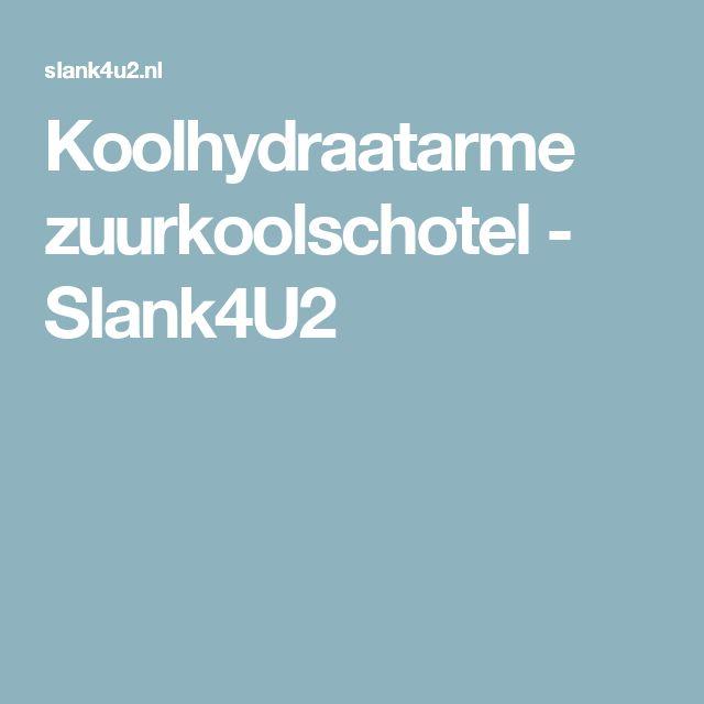 Koolhydraatarme zuurkoolschotel - Slank4U2