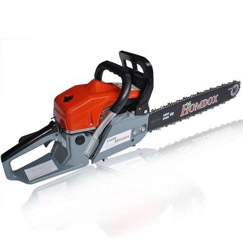 Homdox 2 Stroke 52cc 20inch Saw Blade Petrol Chainsaw Outdoor Garden Yard Use with Tool Kit #TA