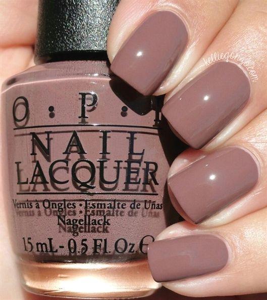 Purple Taupe Nail Polish: Opi Taupe Purple Polish #GelNailPolish