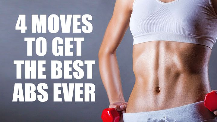 4 Simple Exercises For A Super-Strong Core