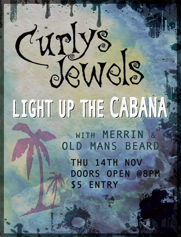 Our first gig at The Cabana bar in Napier. If you're a muso, you gotta gig there at LEAST once. The sound is mint, the venue is a nice type of intimate and Roy the owner is awesome :) #Rock #Napier