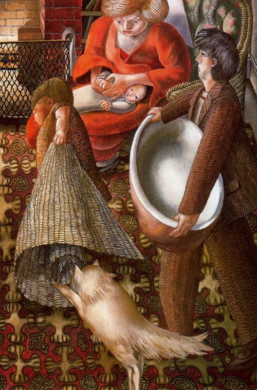 Stanley Spencer, (English painter, 1891 – 1959) It's About Time: At Home with Stanley Spencer 1891-1959