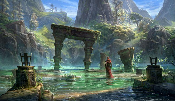 Jeremy Fenske Art: Elder Scrolls Online *UPDATE*
