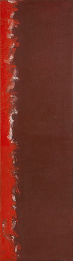 Barnett Newman Completion Date: 1949 Style: Color Field Painting Genre: abstract