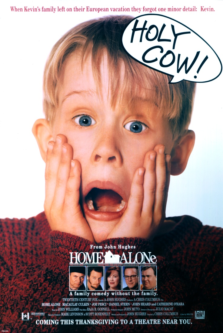 Home Alone | A young boy learns to fend for himself after his family accidentally leaves him at home while they go off on their vacation in France for Christmas | Macaulay Culkin | Joe Pesci | Christopher Columbus |