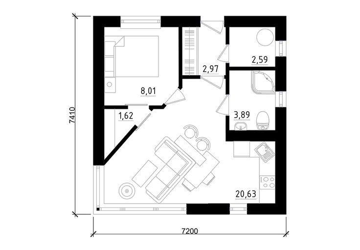Oltre 25 fantastiche idee su planimetrie dell 39 appartamento for Piccole planimetrie