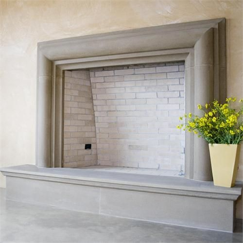 Family Room: Cast stone surround with hearth - 25+ Best Ideas About Cast Stone Fireplace On Pinterest Limestone