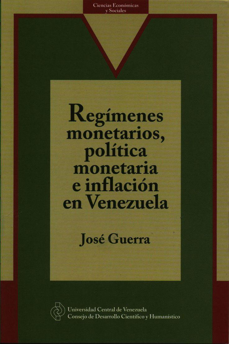 En este libro del Prof. José Guerra se analíza la trayectoria de la inflación en Venezuela desde la creación del Banco Central hasta 2010. Ediciones #CDCH #UCV #2013