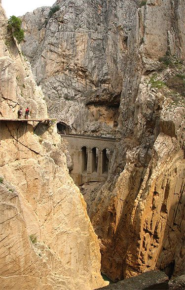 El Caminito del Rey, Málaga, Spain. Go to www.YourTravelVideos.com or just click on photo for home videos and much more on sites like this.