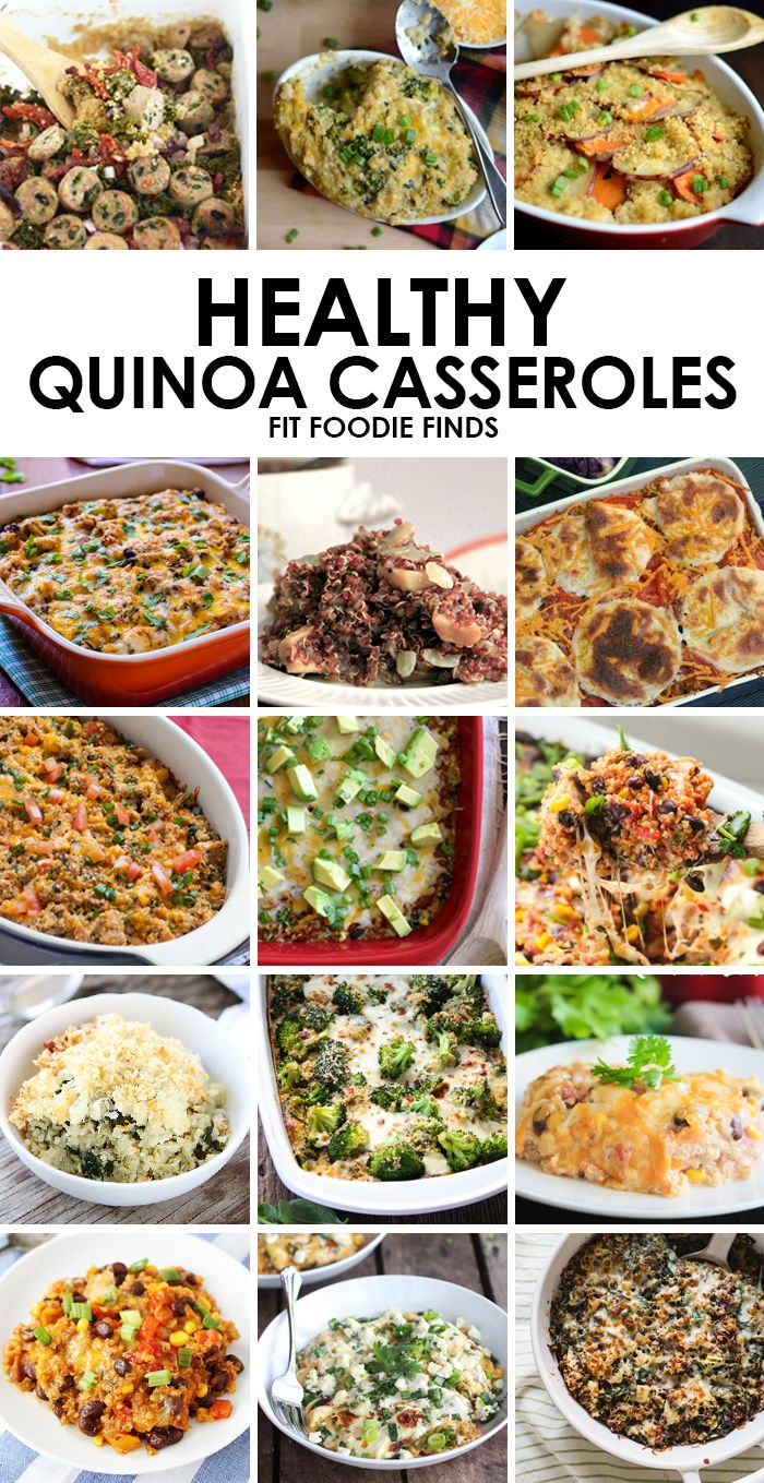 Healthy Quinoa Casserole Recipes #healthy #recipe