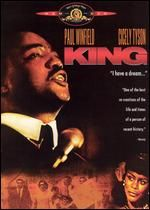 King: The Martin Luther King Story originated as a three-part miniseries, first telecast February 12, 13 and 14, 1978. Paul Winfield is starred as Martin Luther King, with Cicely Tyson as Coretta Scott King. The film covers the years 1954 through 1968, taking Rev. King from his first peaceful protests against segregation in Montgomery to his murder in Memphis.