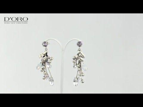 D'ORO Jewellery Biżuteria Częstochowa KOLCZYKI - YouTube