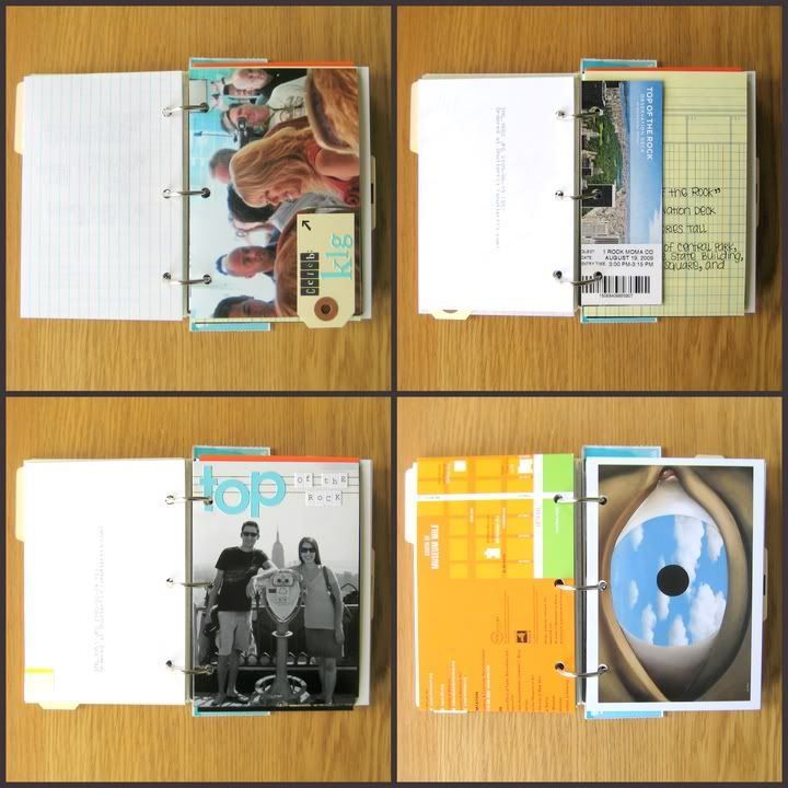 vacation mixed paper journal
