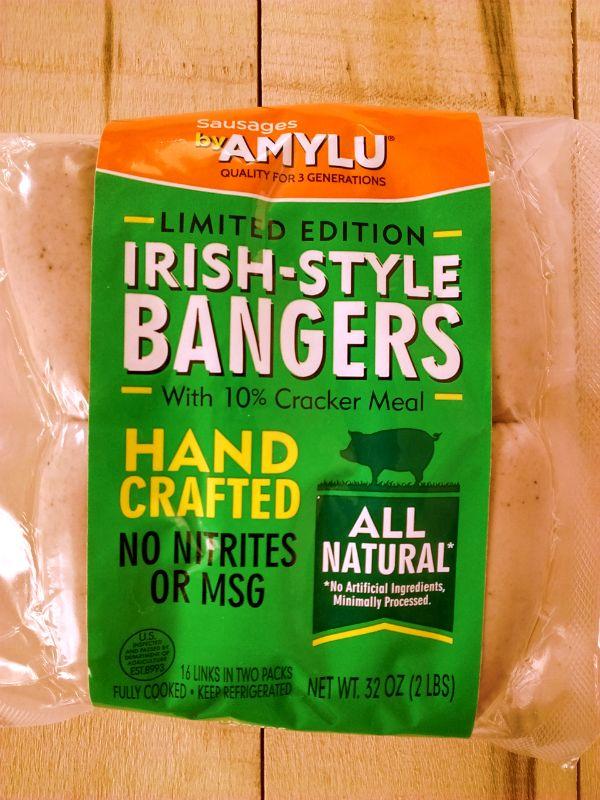 Amylu Irish Style Bangers Review Costco Irish Bangers Bangers