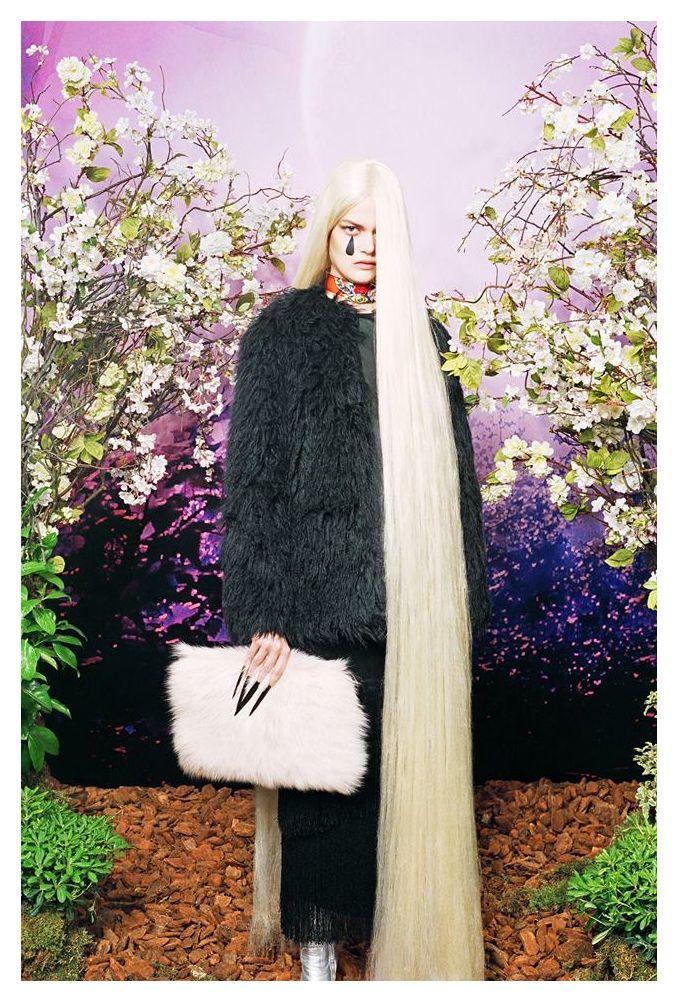 Caroline Schurch for Bimba Y Lola F/W 14 Campaign