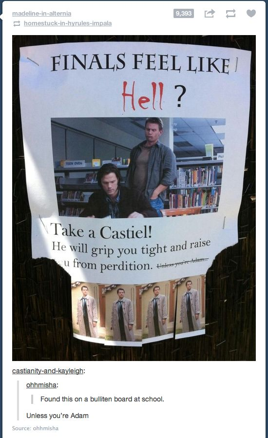 You know, I'd seen this before and thought it was hilarious. Thanks, once again, fandom, for ruining even that. *sigh*