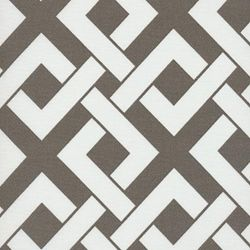 Boxed In Brindle Contemporary Outdoor Fabric