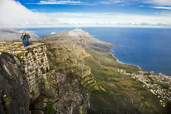 Activities in and around Cape Town are full of spectacular, panoramic views. Join our South Africa Adventure for 11 days of hiking, cycling, kayaking, and more.