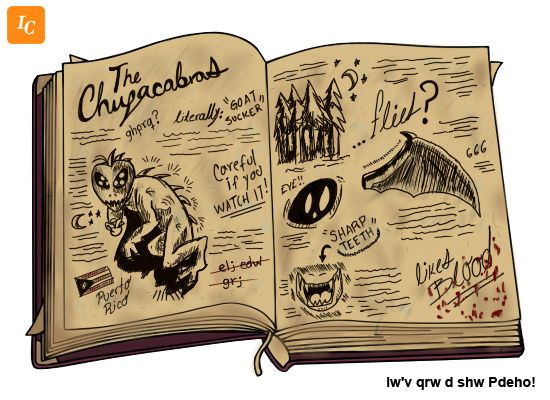 Image from http://fc06.deviantart.net/fs71/f/2013/222/7/f/gravity_falls___the_chupacabras_by_ivancartoonist-d6hk94u.png.
