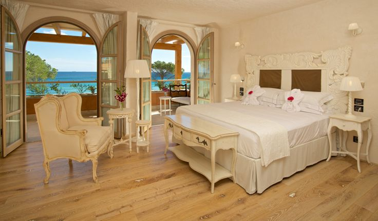 #JuniorSuite #Room with double or twin bed .  The Hotel La Villa del Re is located in Località su Cannisoni, Castiadas, #CostaRei #Sardegna  Soft Opening scheduled on June 13th, 2014 www.lavilladelre.com