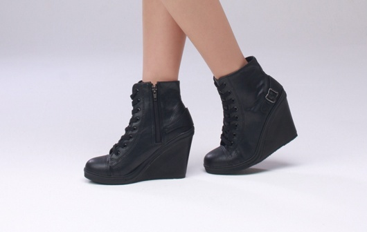 details about s wedge high heels high top sneakers