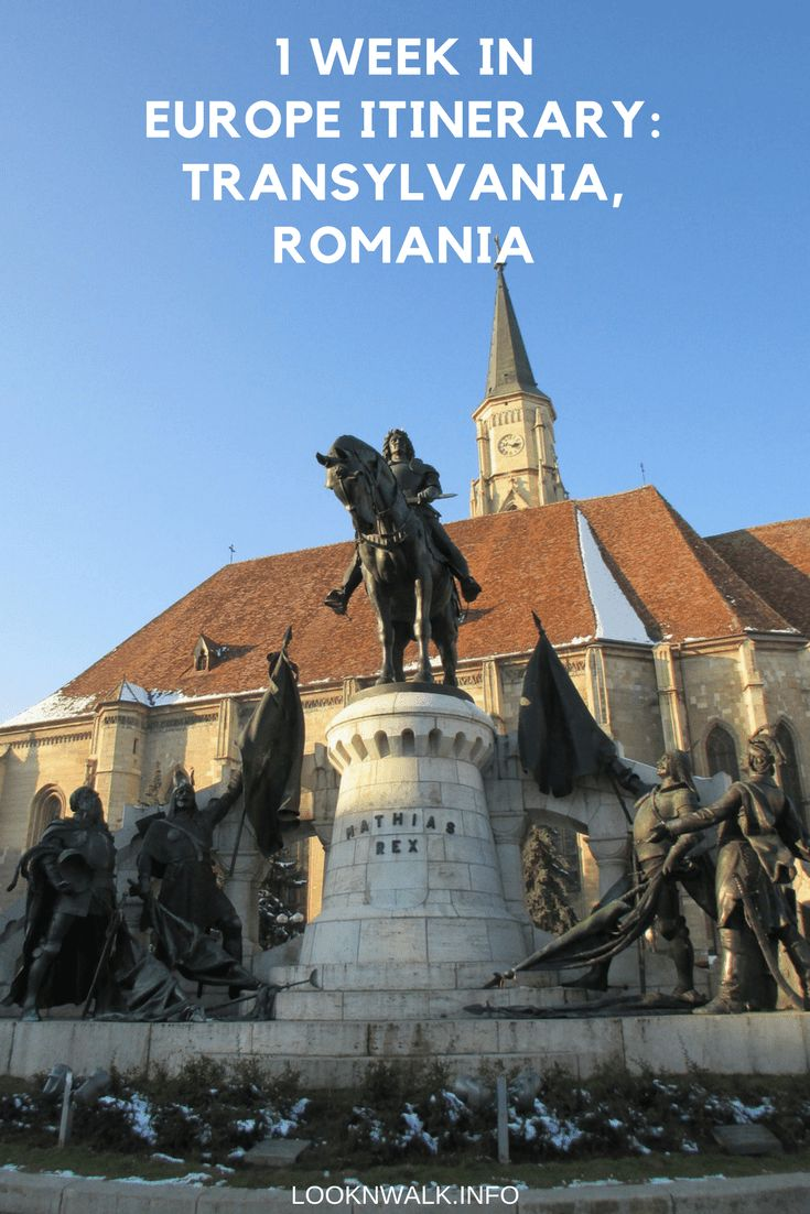 Transylvania conjures images of bloody vampires – thanks, Bram Stoker! -, fortified churches, rolling hills and a hearty cuisine.
