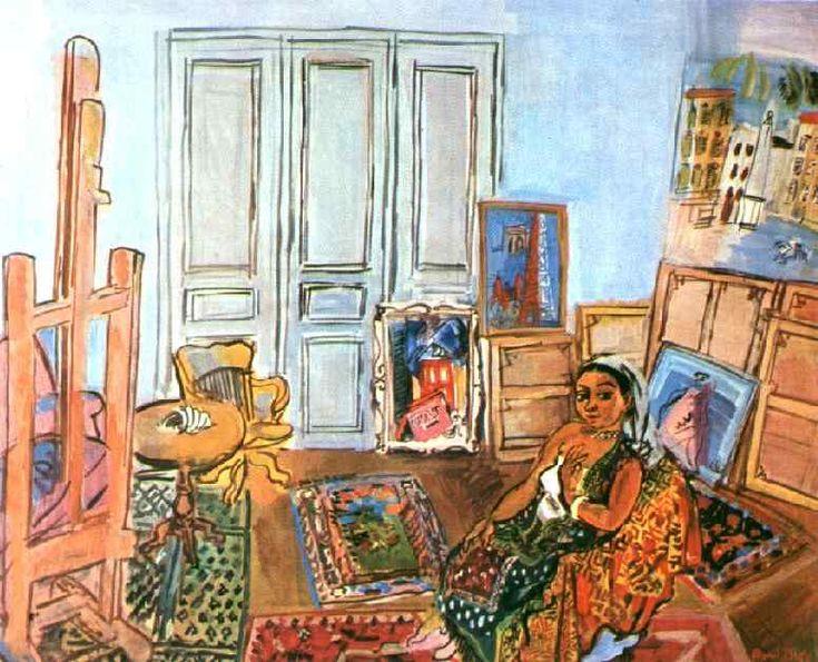 Рауль Дюфи. Индийская модель