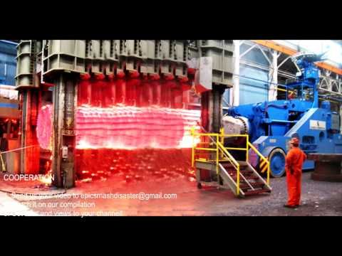 HYPNOTIC Video Inside Extreme Forging Factory Steel Hydraulic Pneumatic Hammer Mega Machine CNC - YouTube