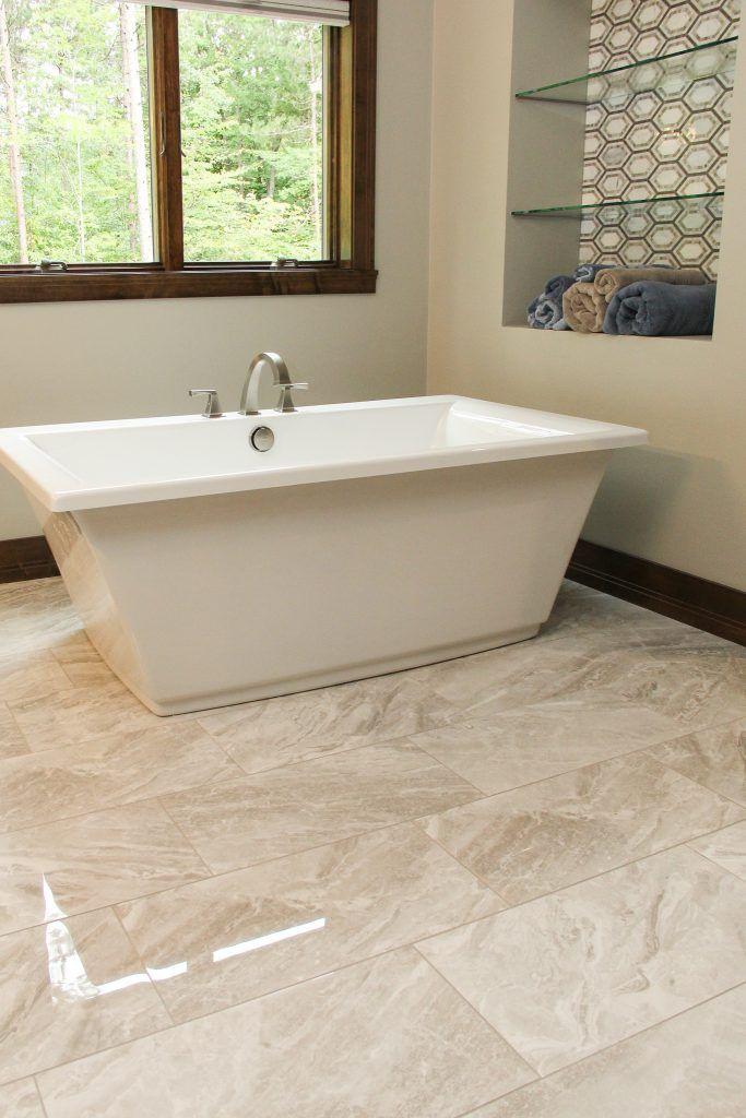 Marble Mosaic Tile Flooring White Master Bathroom House Flooring Marble Mosaic Tile Floor
