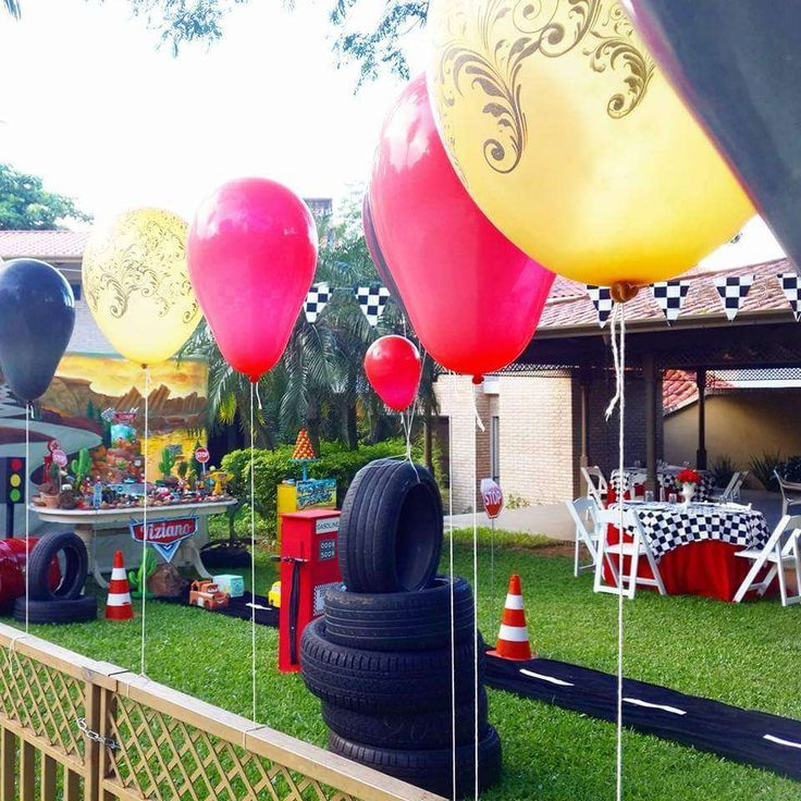 cars party Birthday Party Ideas | Photo 1 of 28 | Catch My Party
