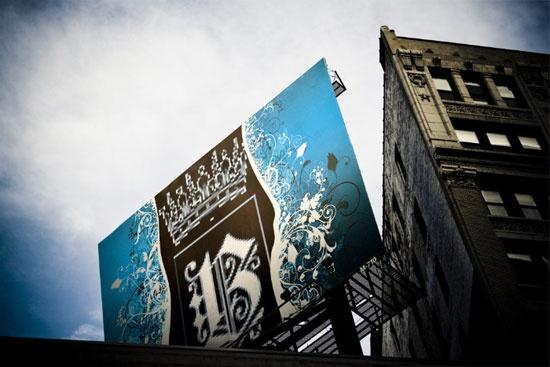 Decorated Billboard