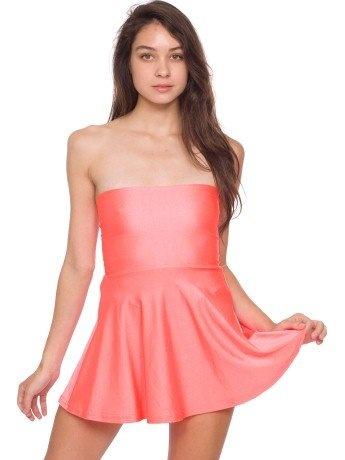 American Apparel Nylon Tricot High-Waist Skirt