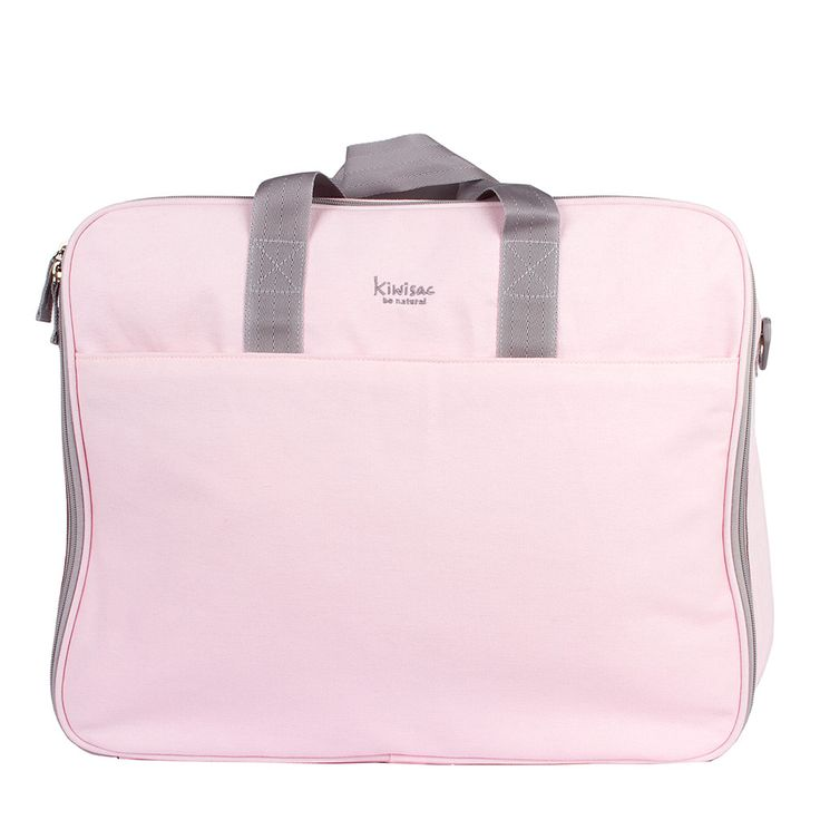 Práctica maleta en color rosa para los viajes con el peque de la casa.