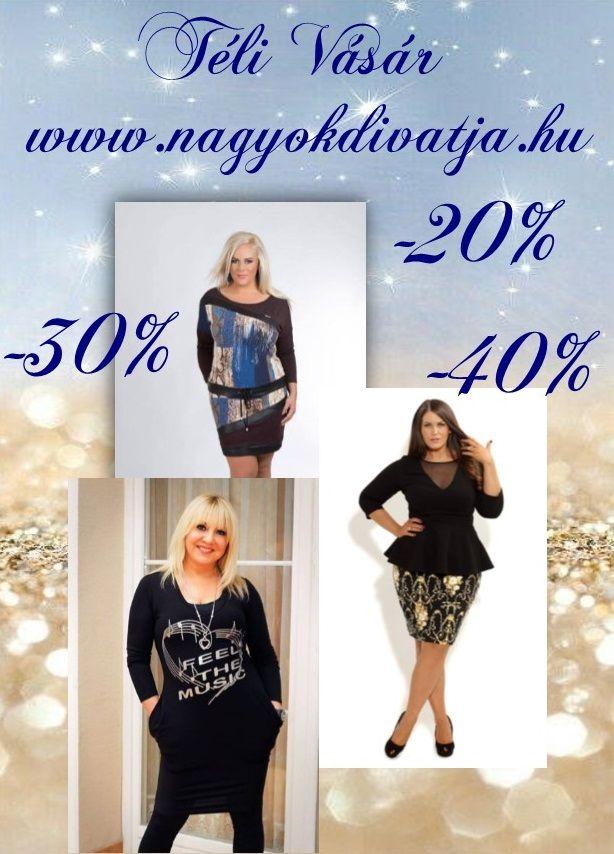 Molett ruhák akciós áron webshopunkon . www.nagyokdivatja.hu