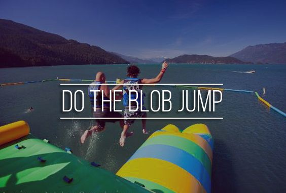 "25. Bucket list item - Do the blob jump #Jump #summer #likethat  Did you know that the current official Guinness World Record ""greatest height achieved by being launched from an airbag"" is 22 meters (72 feet 2.14 in) and was set on 7th June, 2012? Break it today!"