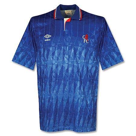 89-91 Chelsea Home Shirt - Grade 8 - Subside Sports
