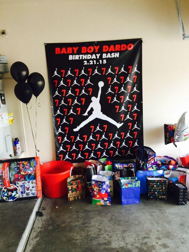 Jordan Banner Dardos Birthday Bash In 2019 Birthday