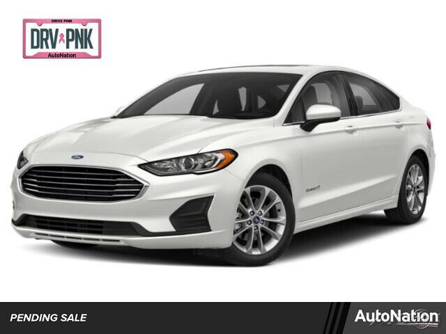 2020 Ford Fusion Se 2020 Ford Fusion Hybrid Se Front Wheel Drive