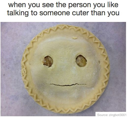 You in front of the person you like: | 21 Pictures That'll Make Awkward People Laugh Harder Than They Should