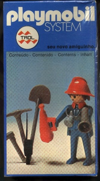 Playmobil 23.36.6 Fire Fighter - Fixed hands_Trol Brasil // Not available