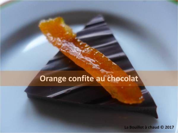 zéro déchet réduction déchet utiliser ses épluchures d'orange orange confite au chocolat ou pas