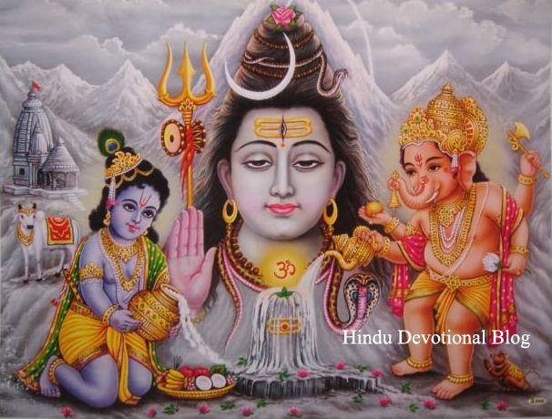 Hindu Gods Baby Photos