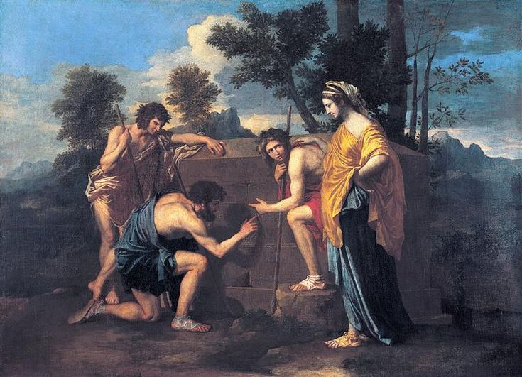 Et in Arcadia ego - Poussin Nicolas