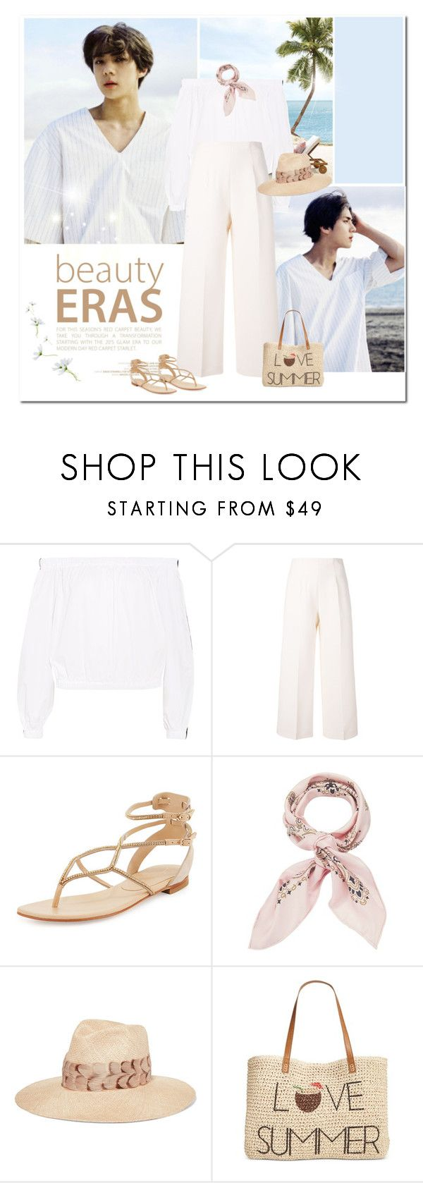 """Summer breathe"" by girl-with-ideas ❤ liked on Polyvore featuring Paper London, Fendi, Lola Cruz, Manipuri, Eugenia Kim and Style & Co."